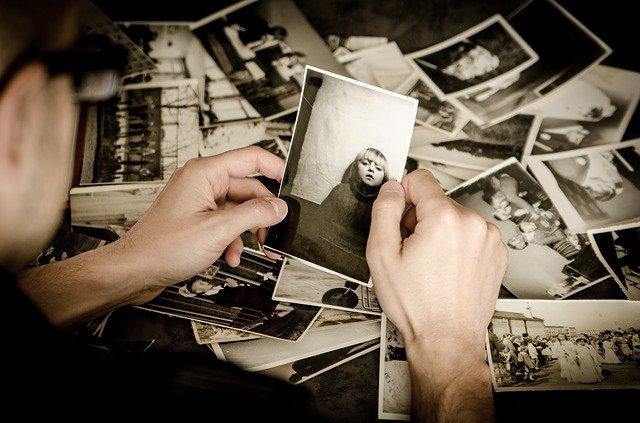 fotografías antiguas duelo terapia