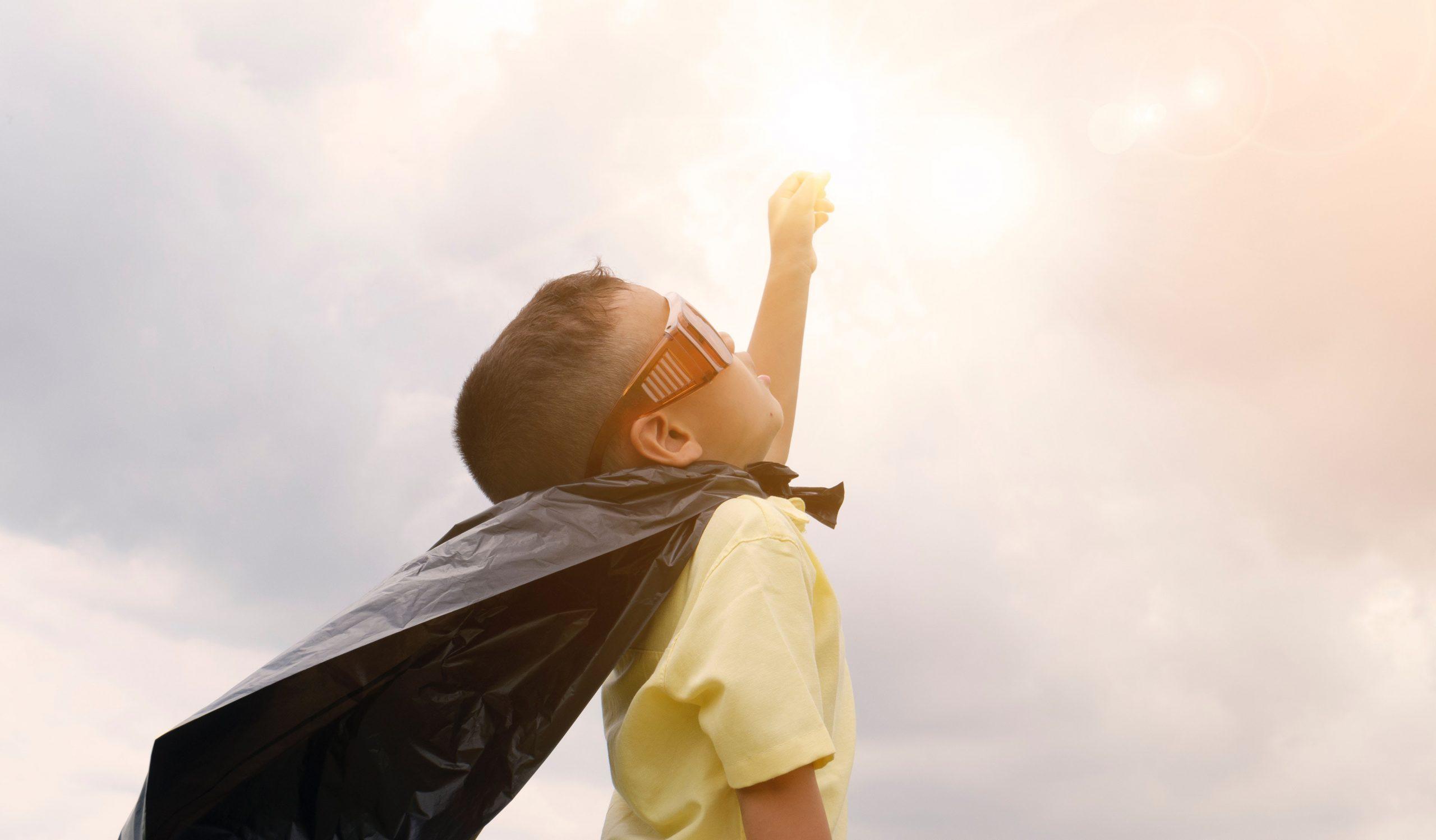niño superman altas capacidades