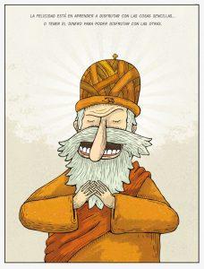 hombre con barba blanca y gorro