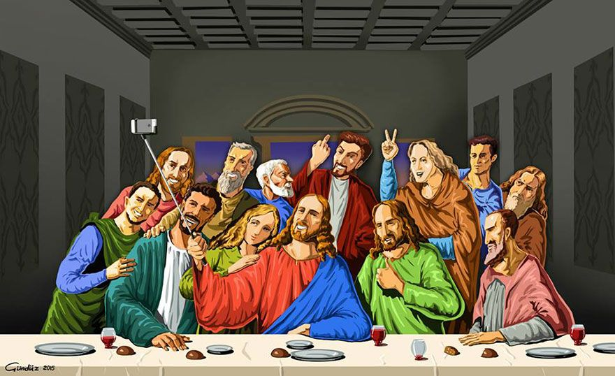 jesus en la última cena